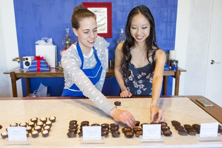 Chocolate Tasting at Chocolaterie Tessa