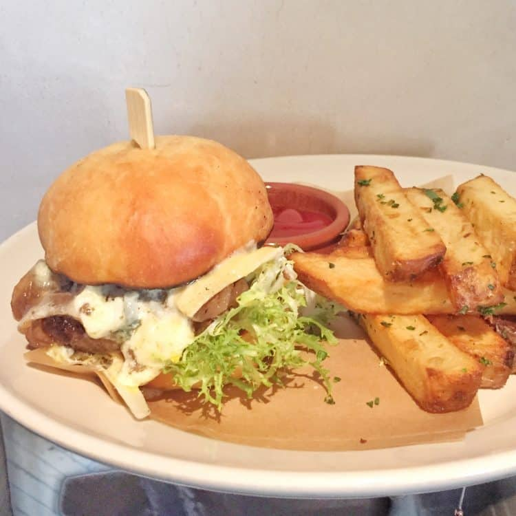 Jeffrey's burger