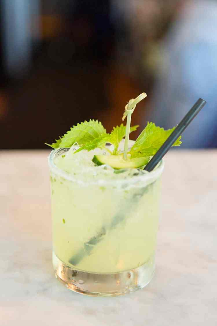 Cucumber & Shiso Margarita