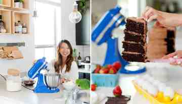 Best Chocolate Cake With The KitchenAid Artisan Mini