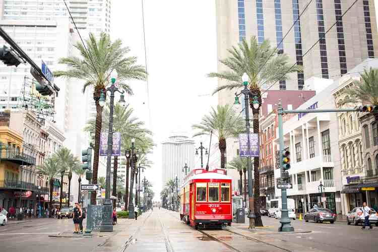 Ride A Streetcar on St. Charles Avenue