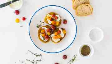 End Of Summer Tomato Crostini Recipe