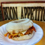 Kimchi Breakfast Sandwich