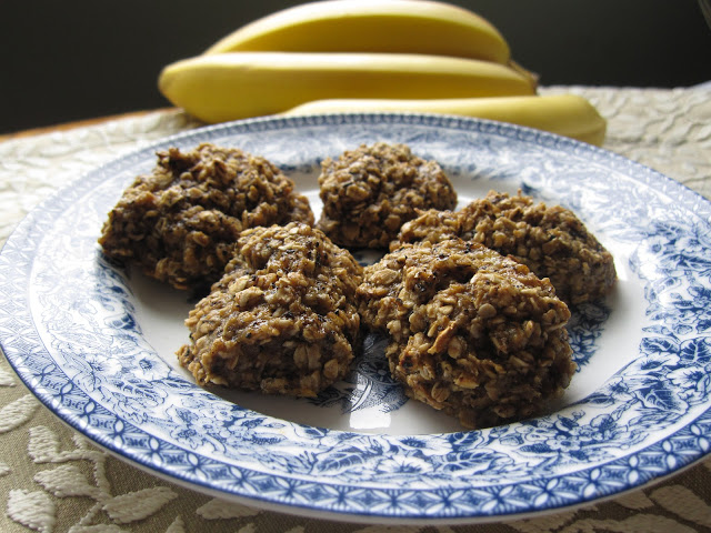 Eggless Banana Chai Latte Cookies