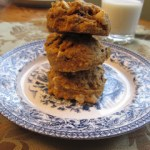 Pumpkin, Cranberry, White Chocolate, Oatmeal Cookies