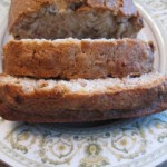 Cream Cheese Banana Pecan Bread