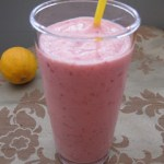 Soy Strawberry Lemon Smoothie