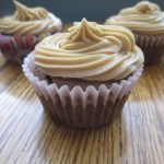 Double Chocolate Cupcakes with Peanut Butter Frosting