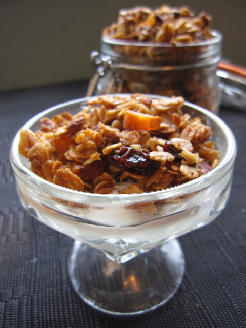 Raisin and Apricot Granola