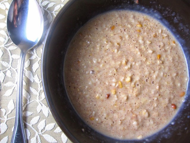 how to make oatmeal microwave