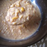 Microwave Peanut Butter Oatmeal