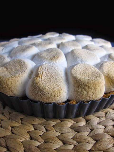 Smores Brownie Pie