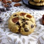 Chocolate, Caramel and Pecan Cookies