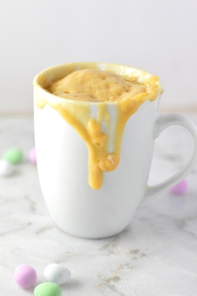 Easy Cake In A Mug No Egg