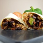 Bean and Rice Burritos
