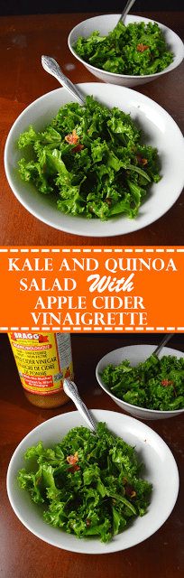 Kale and Bacon Salad with Apple Cider Vinaigrette