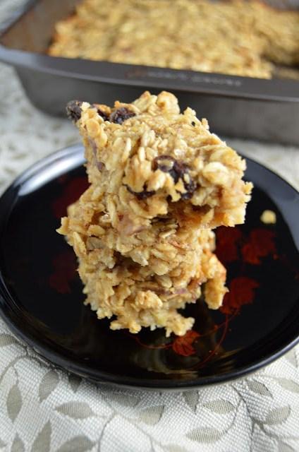 Apple Peanut Butter Breakfast Bars