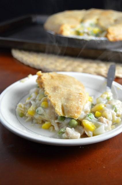 Leftover Turkey Pot Pie