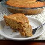 Pear and Dulce de Leche Cake