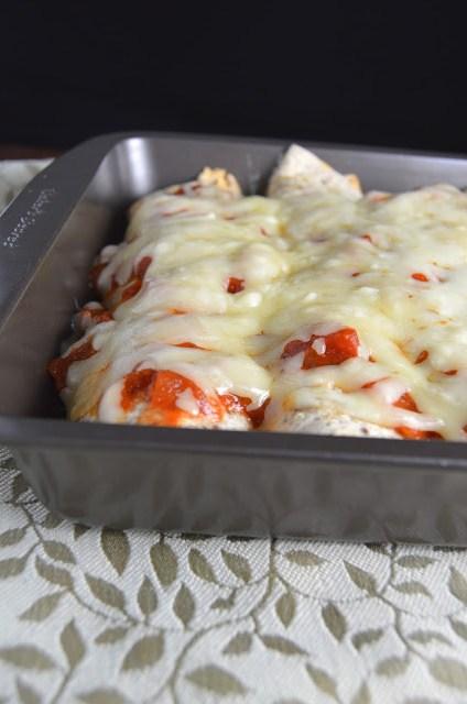 Tuna Jalapeno Enchiladas