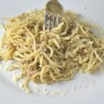 Tuna Pesto Spaghetti
