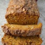 Pumpkin Apple Streusel Bread