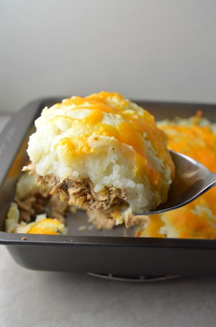 Tuna Shepherd's Pie Recipe
