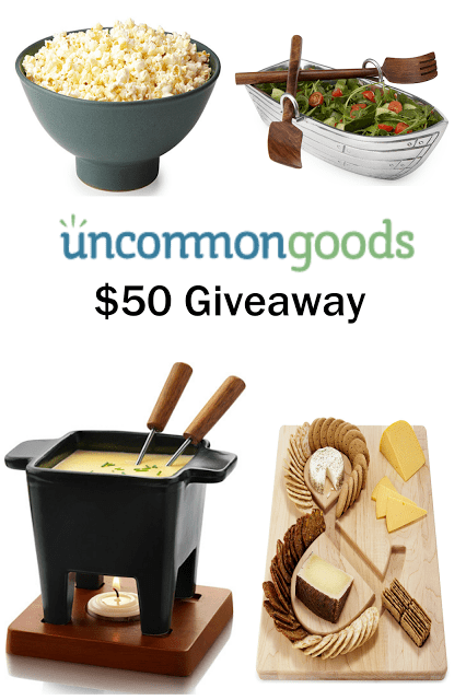 Coconut Oil and Himalayan Salt Popcorn + $50 Uncommon Goods Giveaway
