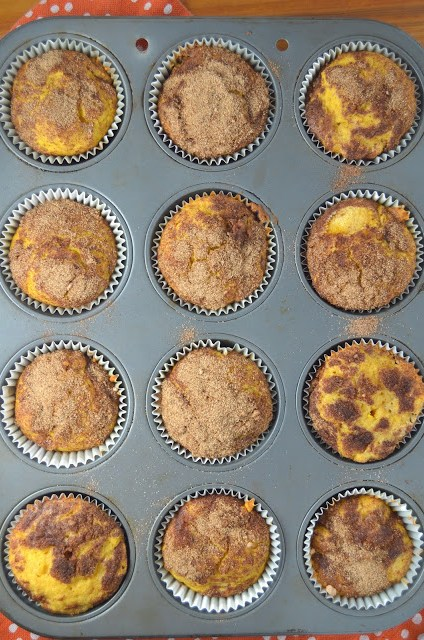 Pumpkin Snickerdoodle Muffins Recipe
