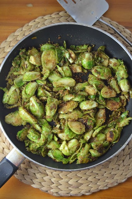 Breadcrumb Brussels Sprouts Recipe