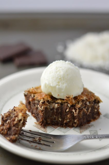 Chocolate Coconut Cream Cake Recipe