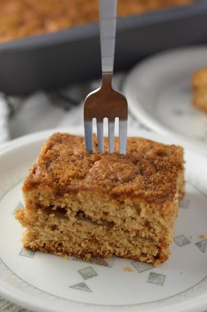 Layered Apple Coffee Cake