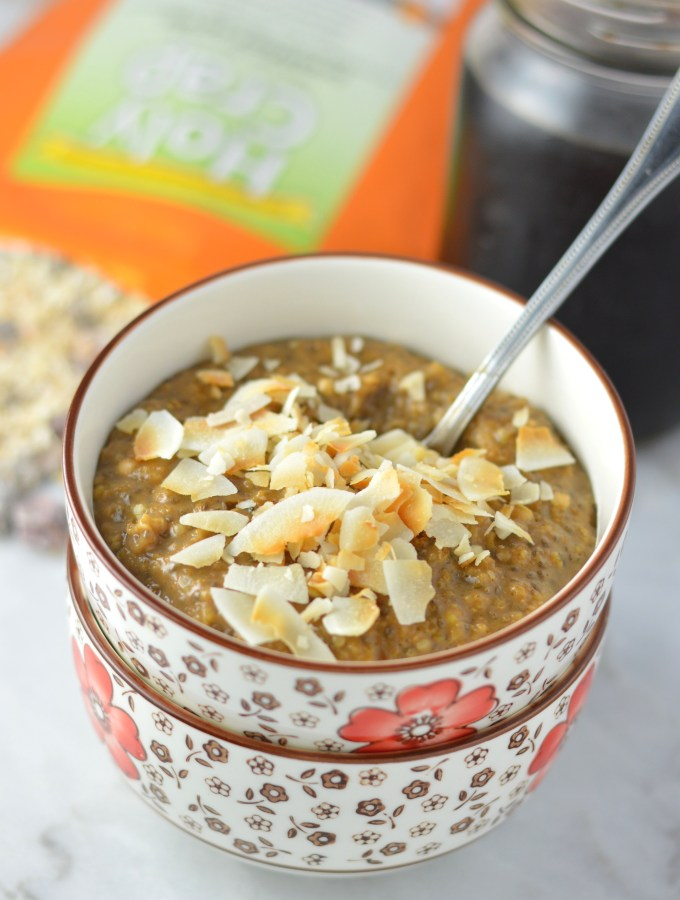 Holy Crap Mocha Oatmeal + Giveaway