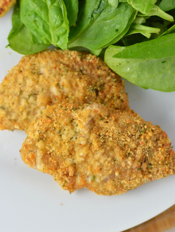 Baked Breaded Pork Chops