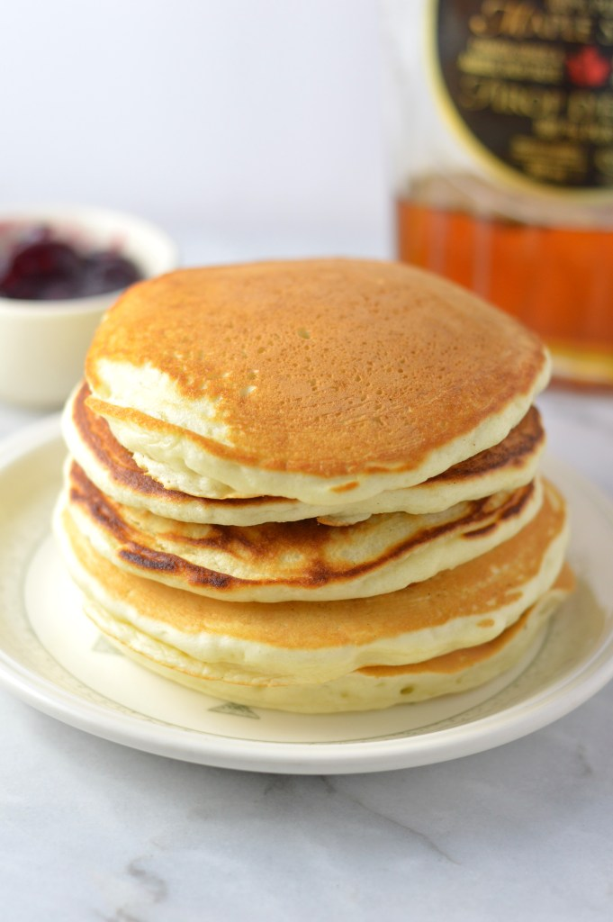 Saturday or Sunday Morning Pancakes. Perfect for a weekend brunch or breakfast. This is my favourite recipe for pancakes.