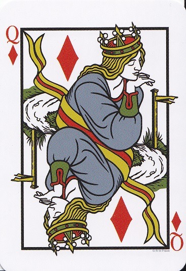 The Hermes Playing Card Oracle Tarot Refections