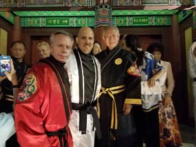 Chief Master Stauffer - Master Church - Grand Master Soon Ho Lee