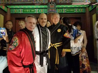 Chief Master Stauffer - Master Church - Grand Master Soon Ho Lee
