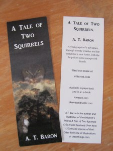 Close up of bookmark printed by UPrinting®.