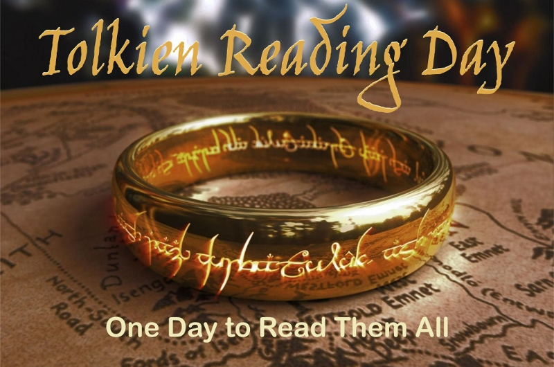 Tolkien Reading Day – One Day to Read Them All