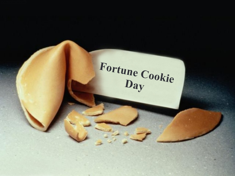 Happy Fortune Cookie Day