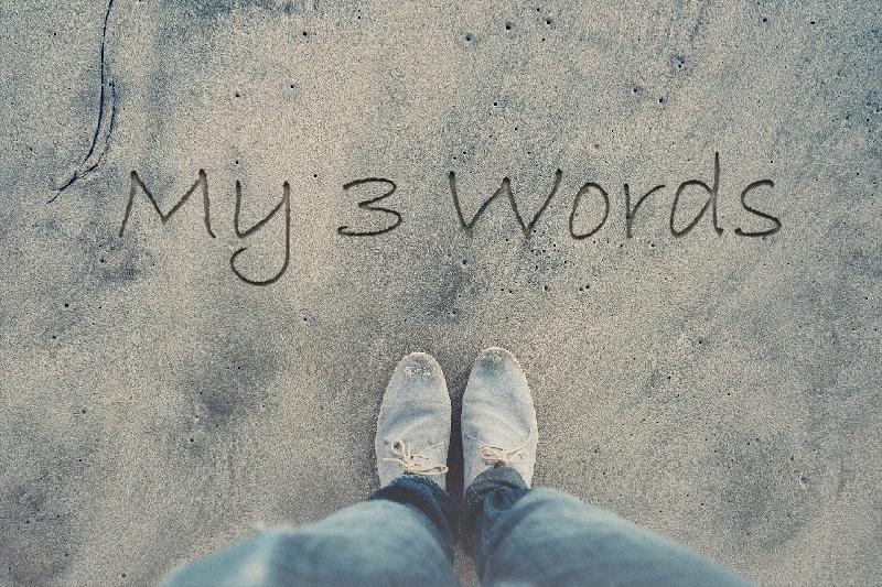 My 3 Words 2017