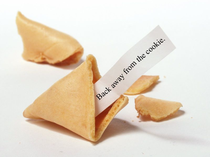 A Fortune Cookie Diet for My Writing