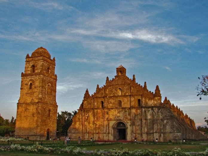 St Augustine Church in Paoay Ilocos Norte