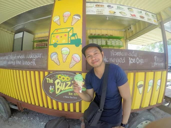 Bohol Bee Farm Ice Cream at Alona Beach