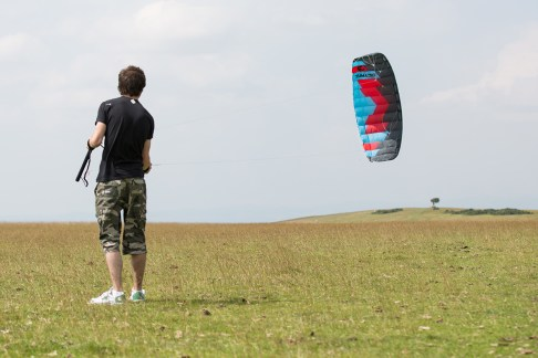 ATBShop - Learning To Power Kite - Flying