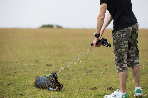 ATBShop - Learning To Power Kite - Taking Handles Out