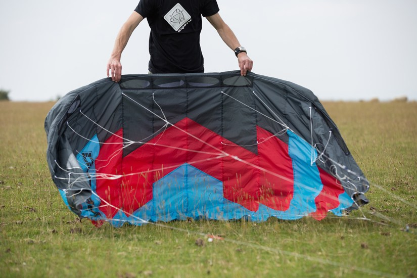 ATBShop - Learning To Power Kite - Getting Kite Out Of The Bag