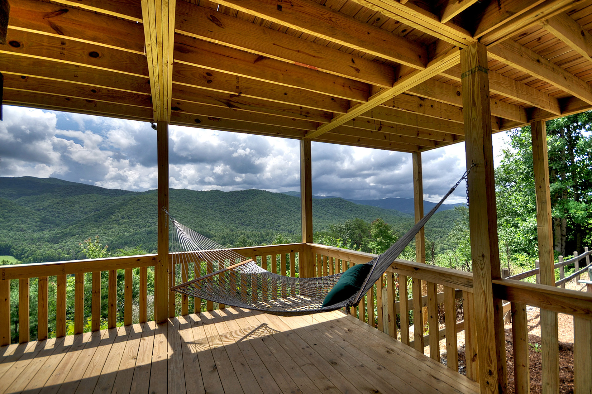 Deck Amp Porch Tour Above The Clouds Cabin