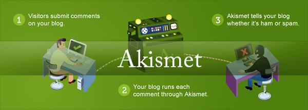 تحميل اضافة Akismet 3.1.3 لمكافحة السبام في الووردبريس